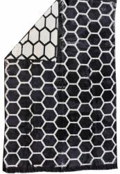 Koc Plastry miodu czarny 150x200