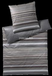 Joop pościel mako-satin Micro lines stone shades 4099 155x200
