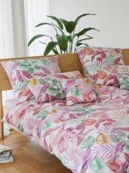 Elegante poszewka mako-bawełniana egipska Barbados rose 2337  40x40, 40x80, 80x80
