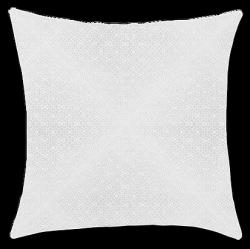Exclusive Curt Bauer poszewka na poduszkę mako-żakardowa Lattice biała