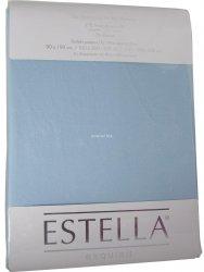 Prześcieradło zwirn-jersey z gumką Estella wolke