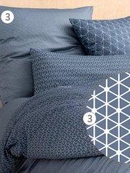 Estella pościel mako-jersey Romeo navy 6872 200x220
