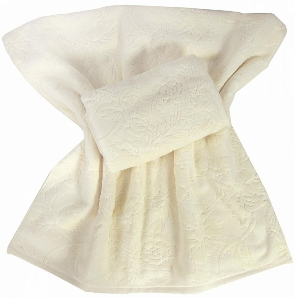 Ręcznik Silviana kremowy 50x100, 70x140