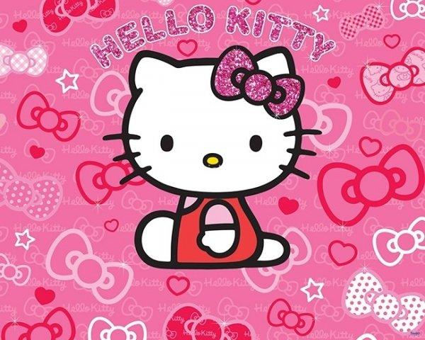Tapeta 3D Hello Kitty