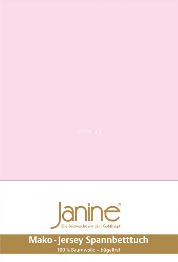 Janine prześcieradło jersey z gumką zartrosa
