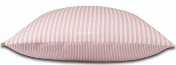Janine  mako-satin Modern różowa w paski 3912 200x220