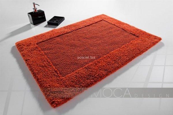 Dywanik łazienkowy MOCA Design pomarańczowy 50x75, 60x100
