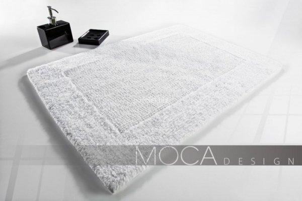 Dywanik łazienkowy MOCA Design biały 60x60, 50x75, 60x100, 70x130