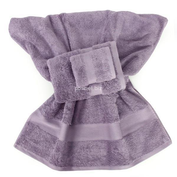 Ręcznik jednolity lila 700g - 30x50, 50x100, 70x140
