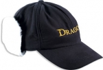 Czapka zimowa DRAGON  baseball z nausznika  czarna