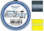 yłka Dragon SEA MASTER Trolling 300m 0.40 mm/13.50 kg szara