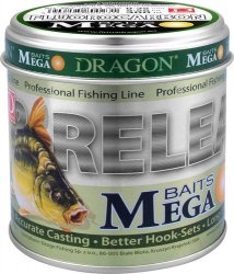 Fluorocarbon DRAGON MegaBAITS 300 m 0.35 mm/9.50 kg clear