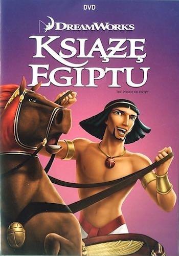 Książę Egiptu [DVD], Film, Bajka, Okladka