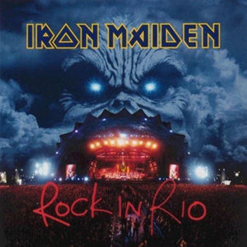 Iron Maiden - Rock In Rio [CD], Okładka