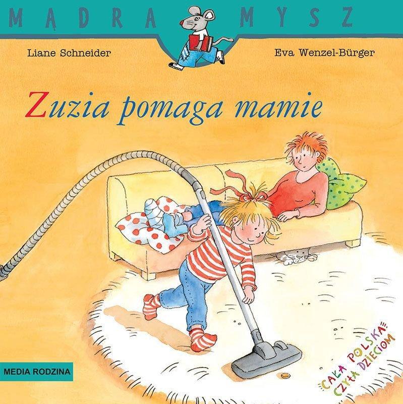 Zuzia pomaga mamie. Mądra Mysz