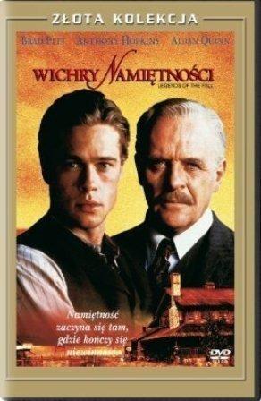 Wichry Namiętności Złota Kolekcja [DVD], Okładka