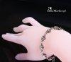 Czaszki - bransoletka z małych czaszek, biżuteria z czaszkami