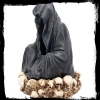 mroczne gadżety: Podstawa na kadzidełka stożkowe Throne De La Mort