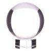 duża szklana kula kryształowa z podstawką, o średnicy 20 cm