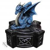 Draco Custos - szkatułka ze smokiem