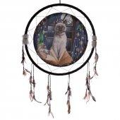 Hokus Pokus Kot - duży łapacz snów z obrazkiem Lisy Parker, 60cm
