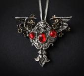 naszyjnik Anioł Północy, amulet ochronny - seria: Dzieci Nocy