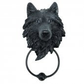 Wilk Mroczny Opiekun - kołatka do drzwi
