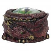 Oko Ognistego Smoka - okrągła szkatułka