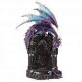 Smok Strażnik Magicznych Drzwi - figurka fantasy
