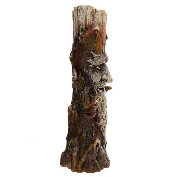 Dziad Borowy Green Man Ent - podstawka, wieża dymna do kadzideł długich