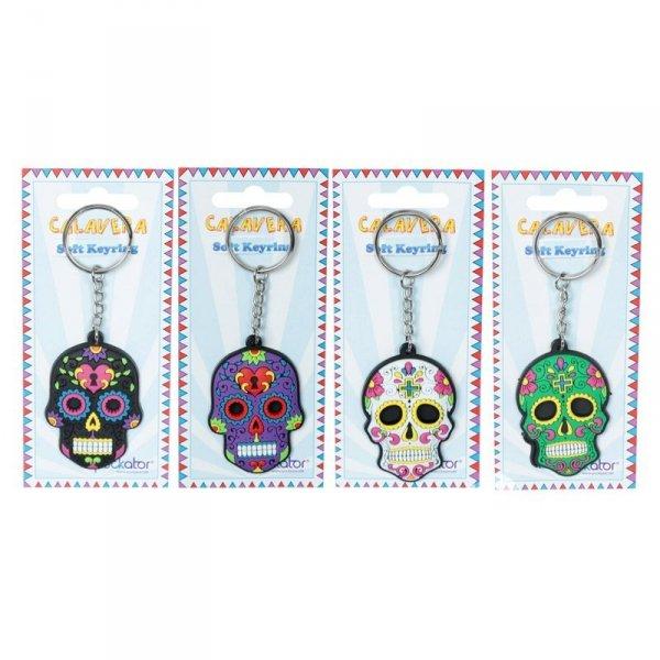 breloczki do kluczy - Meksykańskie Czaszki Calaveras