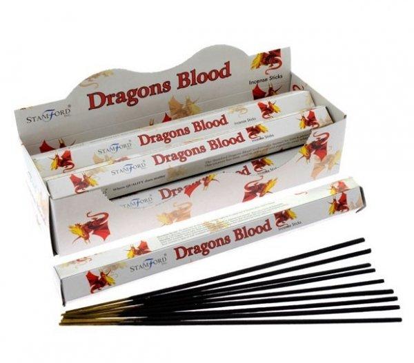 magiczne kadzidełka o zapachu Smocza Krew - Dragons Blood
