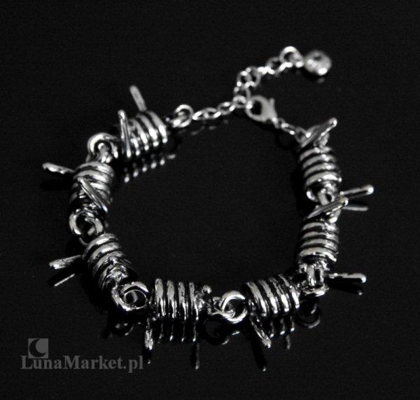 Drut Kolczasty max - bransoletka w kształcie drutu kolczastego