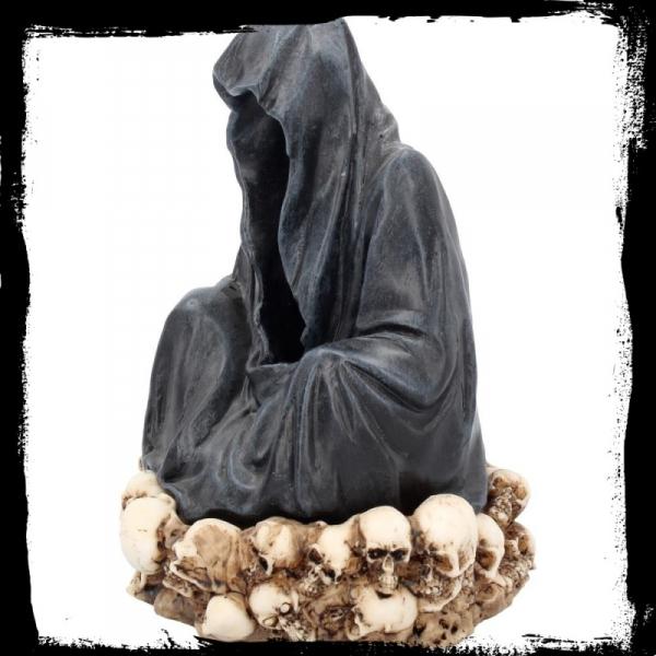 """mroczne gadżety: Podstawa na kadzidełka stożkowe """"Throne De La Mort"""""""