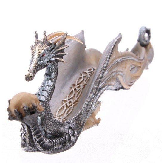 kadzielniczka w kształcie smoka, smok figurki fantasy lunamarket