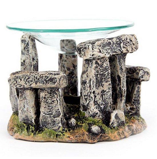 prezenty w stylu fantasy - podgrzewacz kominek do olejków Stonehenge Kamienny Krąg