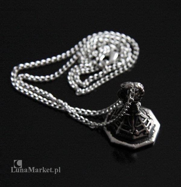"""magiczny naszyjnik """"Pieczęć Astarotha"""" Seal of Astaroth, talizman: Siła i Wiedza, biżuteria gotycka"""