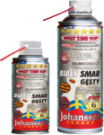 Smar biały z PTFE WGT 196 TOP 400ml spray JOHANSSON