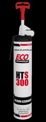 HTS 300 RED silikon wysokotemperaturowy ECOCHEMICAL 200ml