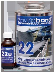 Klejenie taśmociągów, przenośników, transporterów Multibond 22