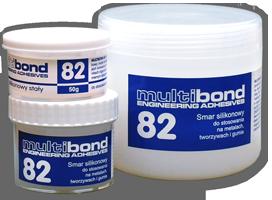 Smar silikonowy stały Multibond 82 500g