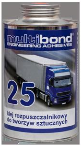 Klej rozpuszczalnikowy do tworzyw sztucznych Multibond 25