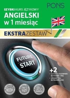 W 1 miesiąc - Angielski Ekstrazestaw PONS