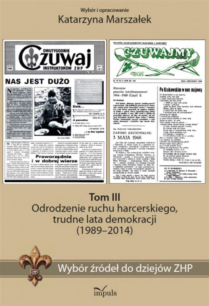 historia. Wybór źródeł do dziejów ZHP T.3