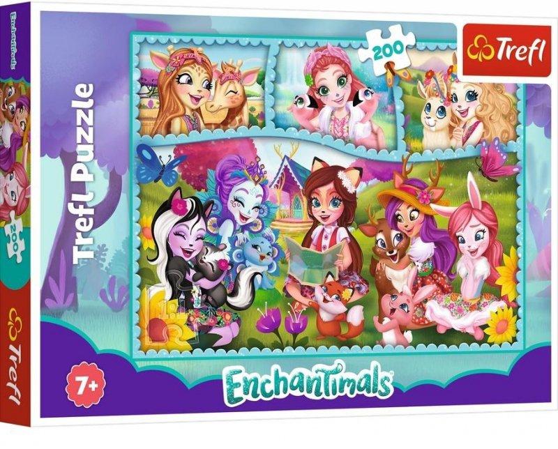 Puzzle 200 Niezwykły świat Enchantimals TREFL