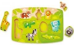 Puzzle stojące Farma zwierząt HAPE