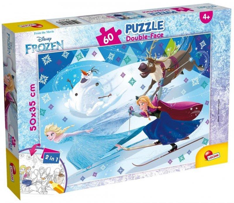 Puzzle dwustronne Plus 60 Frozen 2