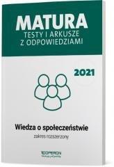Matura 2021 Wiedza o społ.Testy i arkusze ZR