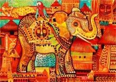 Puzzle 1500 Afryka Oxana Zaika