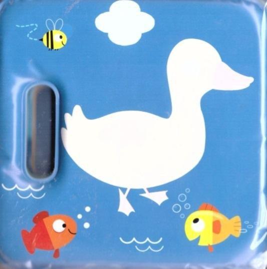 Magiczna książeczka kąpielowa z piszczałką-kaczka